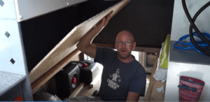 how to build a campervan bed